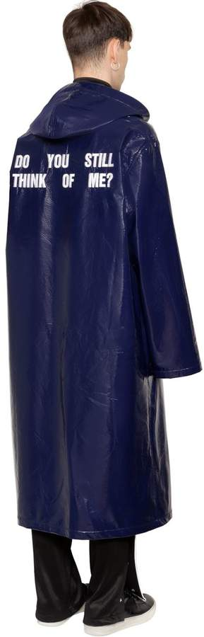 Misbhv Oversize Do You Still Shiny Raincoat