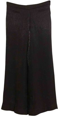 Miu Miu Black Viscose Trousers