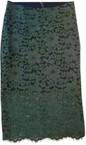 Liviana Conti Yellow Cotton Skirt for Women
