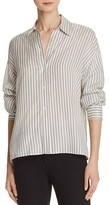 Vince Menswear Stripe Silk Shirt