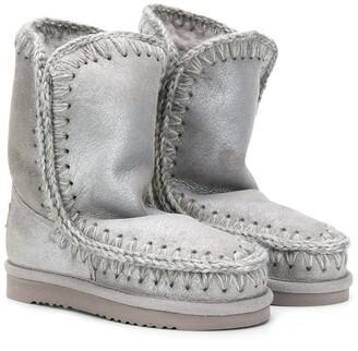 Mou Kids Dusil Eskimo boots