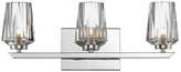 Varaluz Ginsu 3-Light Vanity Bath Fixture