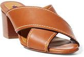 Ralph Lauren Pola Calfskin Sandal