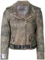 Golden Goose Deluxe Brand biker jacket