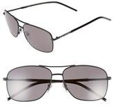 Marc Jacobs Women's 59Mm Aviator Sunglasses - Matte Black