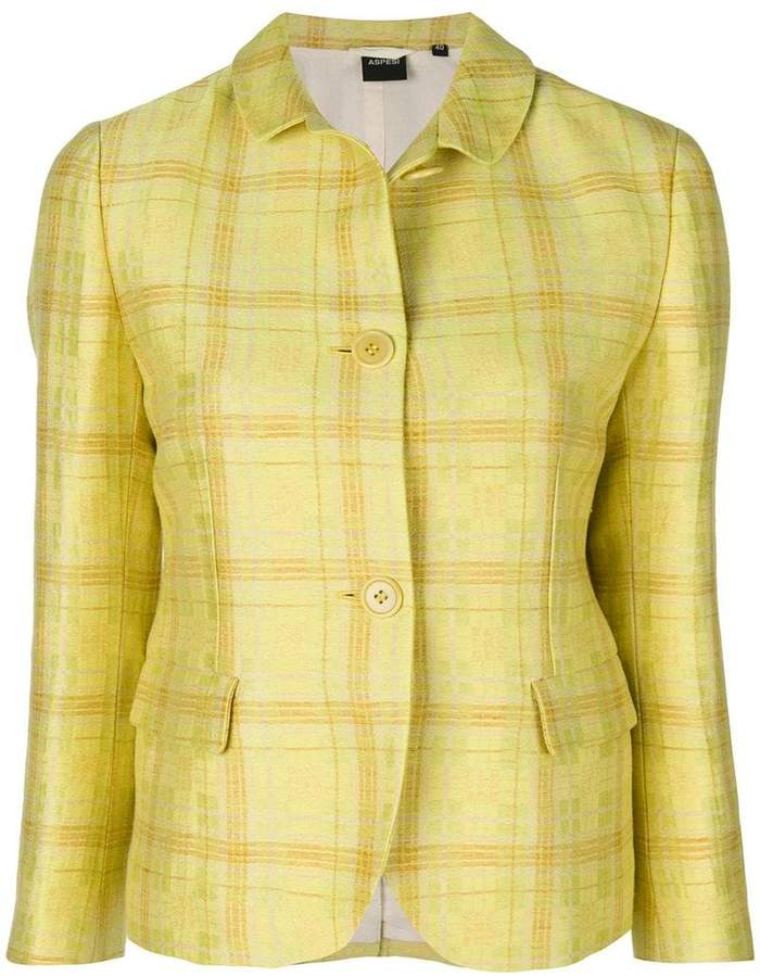 Aspesi plaid shirt jacket