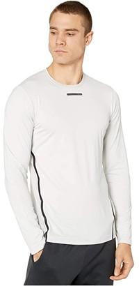Craft Vent Mesh Long Sleeve Tee (Ash) Men's Clothing
