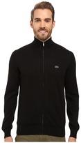Lacoste Segment 1 Full Zip Jersey Sweater