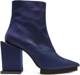 Toga Point-toe cubed block-heel ankle boots
