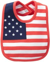 Carter's American Flag Bib - Cotton - Red White and Blue