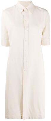 Jil Sander Short-Sleeved Shirt Dress