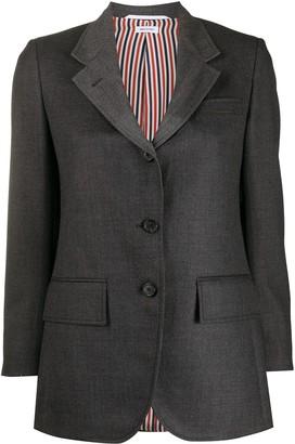 Thom Browne Heavy Wool Single-Breasted Jacket