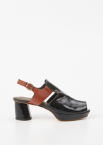 Rachel Comey black patent andi ankle boot
