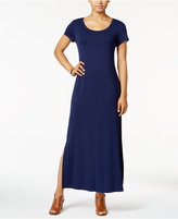 Style&Co. Style & Co. Short-Sleeve Maxi Dress, Only at Macy's