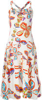 Peter Pilotto floral print dress - women - Spandex/Elastane/Viscose - 10