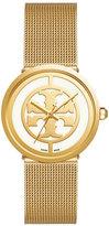 Tory Burch Reva Golden Three-Hand Watch