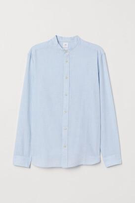 H&M Regular Fit Henley Shirt