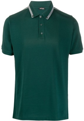 Kiton Button-Down Polo Shirt