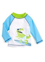 Little Me Infant Boy's Surf Long Sleeve Rashguard