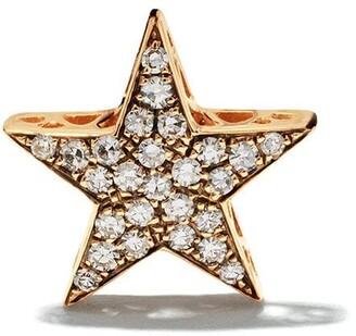Selim Mouzannar 18kt rose gold diamond Star single earring