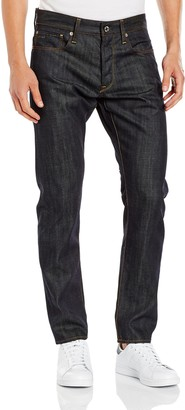 G Star Men's 3301 Tapered Fit Jean In Brooklyn Denim Raw