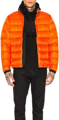 Moncler Puffer in Orange | FWRD