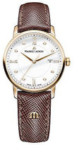 Maurice Lacroix Ladies' Rose Gold Plated Strap Watch