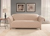 Sure Fit SF44968 Microfleece Pet Sofa Furniture Cover - Taupe