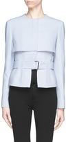 ALEXANDER MCQUEEN Storm flap belt jacket