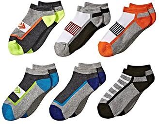 Jefferies Socks Sporty Low Cut 6-Pack (Toddler/Little Kid/Big Kid/Adult) (Multi) Boys Shoes