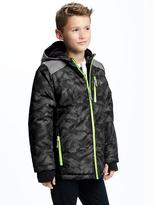 Old Navy Reflective Snowboard Jacket for Boys