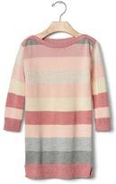 Gap Pastel stripes sweater dress