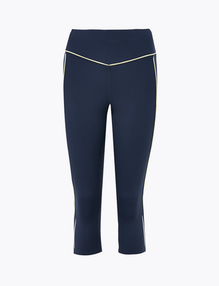 Marks and Spencer Go Train Piping Detail Cropped Leggings