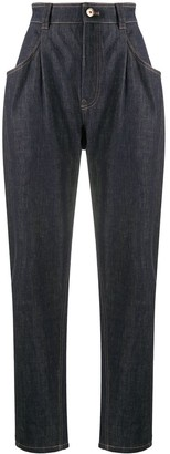 Brunello Cucinelli High-Rise Balloon Jeans
