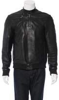 Public School Leather Moto Jacket