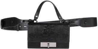 Alexander McQueen Black Leather Bag