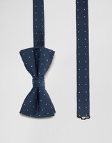 Jack and Jones Bow Tie with Dot