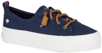 Sperry Crest Vibe Platform Canvas STS84192 Navy Sneaker