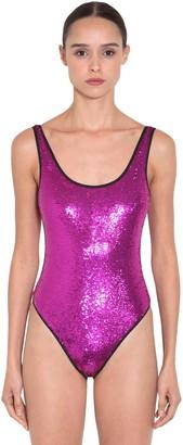 Objet De Desir Sequin Embellished Bodysuit