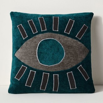 west elm Open Eye Recycled Fabric Pillow Cover