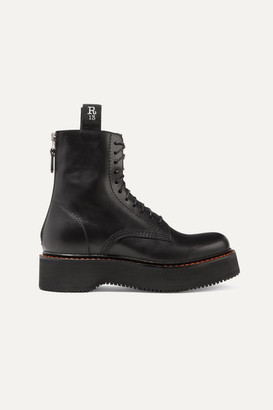 R 13 Leather Ankle Boots