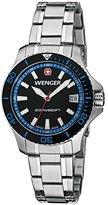 Wenger Women's 0621.104 Sea Force 3 H Analog Display Swiss Quartz Black Watch