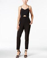 Kensie Cutout Straight-Leg Jumpsuit