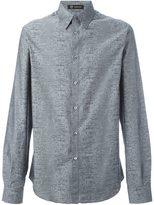 Versace Joy Division pattern shirt