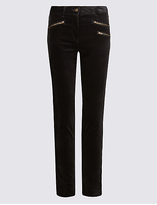 M&S Collection Modal Blend Skinny Leg Trousers