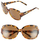 Corinne McCormack Women's 'Elizabeth' 61Mm Reading Sunglasses - Amber/ Tortoise