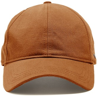 Todd Snyder + New Era Selvedge Chino Dad Hat in Chestnut