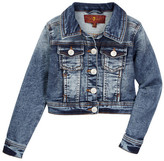 7 For All Mankind Denim Jacket (Little Girls)