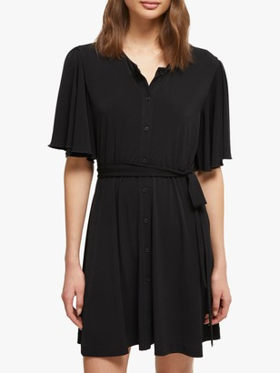 French Connection Serafina Slinky Jersey Belted Dress