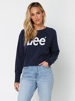 Lee New Dart Out Crew Sweatshirt In Navy Womens Sweaters & Jumpers